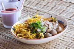 Тайские лапши Стоковые Изображения