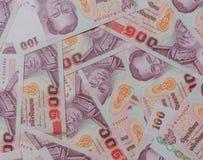 Тайские банкноты Стоковая Фотография