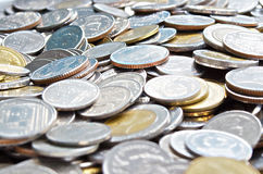Тайские деньги монетки для обмена торговой операции Стоковое Изображение