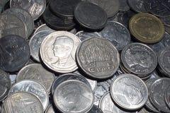 Тайские деньги монеток Стоковое Изображение RF