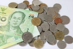 Тайские деньги Стоковая Фотография