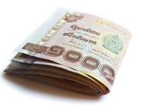 Тайские деньги. Стоковая Фотография