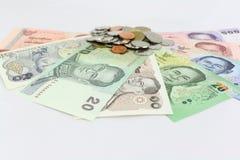Тайские деньги Стоковая Фотография RF
