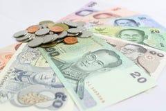 Тайские деньги Стоковое Изображение