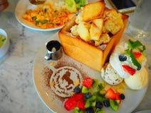 Тайские десерты здравицы меда Стоковые Изображения
