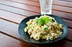 Тайские жареные рисы стоковые фото