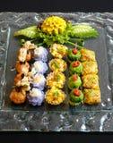 Тайские закуски смешивания еды Стоковое Изображение RF
