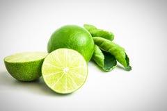 Тайские листья лимона и зеленого цвета Стоковые Фотографии RF