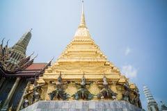 Тайские красочные Giants Стоковые Изображения RF
