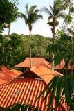 Тайские крыши Стоковые Изображения