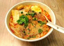 Тайские лапши говядины Стоковые Изображения RF