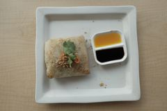 Тайские макаронные изделия еды Стоковая Фотография