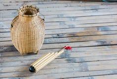 Тайские музыкальный инструмент выстукивания стиля и индигенный местный li Стоковое фото RF