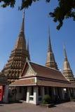 Тайские пагоды Стоковые Фото