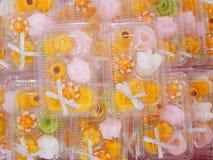 Тайские рецепты десерта Стоковое Изображение RF