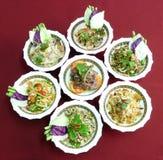Тайские салаты Стоковые Изображения RF
