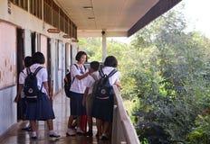 Тайские студенты 2 Стоковое Изображение RF
