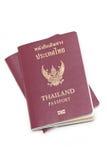 Тайские электронные пасспорты. Стоковая Фотография RF