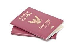 Тайские электронные пасспорты. Стоковые Фото
