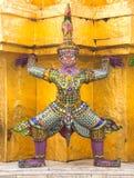 Тайские яки искусства Стоковые Фотографии RF