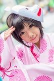 Тайские cosplayers одевают как характеры от шаржа и игры Стоковые Фотографии RF