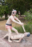 Тайский ад buddism Стоковое Фото