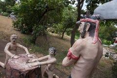 Тайский ад buddism Стоковые Изображения