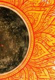 Тайский барабанчик стиля Стоковое Изображение