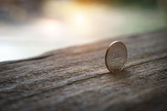 Тайский бат монетки 5 Стоковые Фото