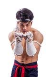 Тайский боксер Стоковое фото RF