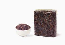 Тайский Брайн riceberry Стоковое фото RF