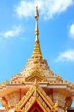 Тайский буддийский crematorium в виске Стоковая Фотография