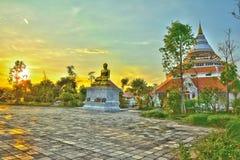 Тайский Будда stupa Стоковые Фотографии RF
