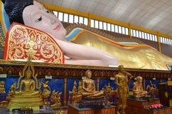Тайский буддийский висок, Chayamangkalaram Стоковые Фото