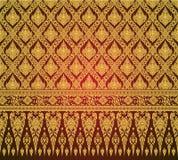 Тайский вектор картины предпосылки искусства Стоковое Фото