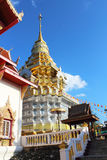 Тайский висок в chiangmai, Таиланде Стоковое фото RF
