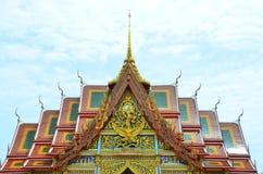 Тайский висок на Samut Prakan Стоковое Изображение RF