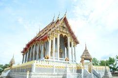 Тайский висок на Samut Prakan Стоковое фото RF