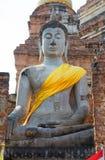 Тайский висок Watyaichaimongkol Стоковое Фото