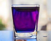 Тайский голубой чай Стоковое Изображение