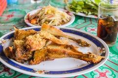 Тайский гриль цыпленка еды Стоковые Изображения RF