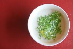 Тайский десерт сделанный от крахмала тапиоки Стоковая Фотография RF