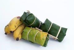 Тайский десерт [циновка 3 dtom Kaao] Стоковые Фотографии RF