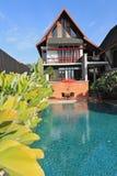 Тайский дом типа Стоковая Фотография