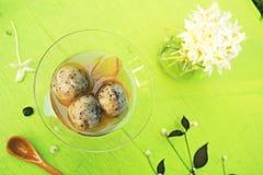 Тайский десерт вареников Стоковые Изображения