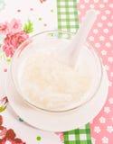 Тайский десерт вызвал сладостный липкий рис с longan Стоковые Фотографии RF