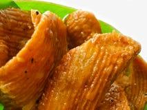 Тайский десерт вызвал krob-kem или карамельку кудрявое печенье Стоковое Фото
