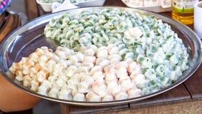 Тайский десерт (десерт сладостного пара тайский) Стоковые Изображения RF