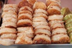 Тайский десерт, тайский блинчик Стоковое Изображение RF