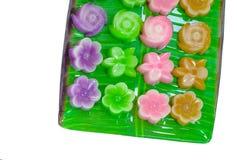 Тайский десерт, тайский sweetmeat Стоковая Фотография RF
